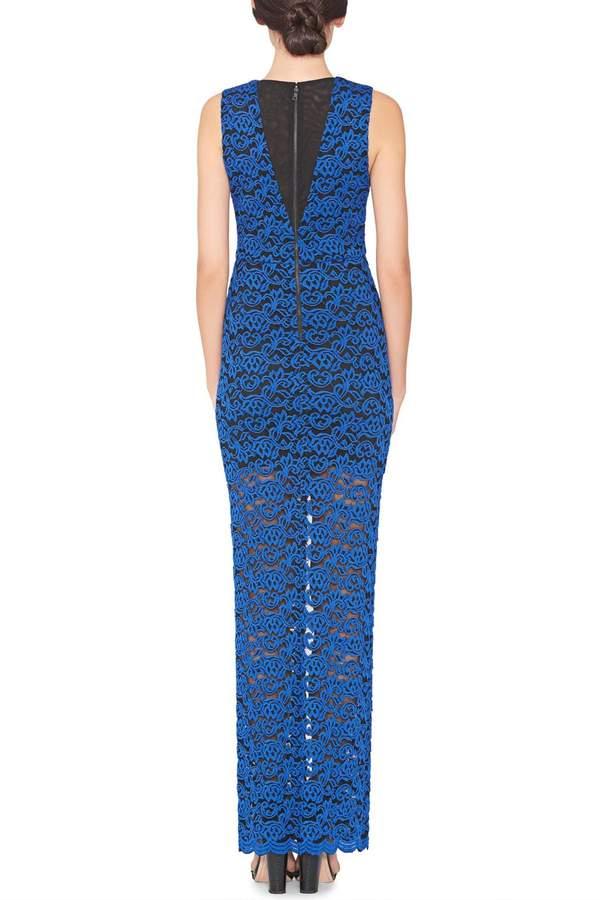 Alice + Olivia Kahlo Slit Dress