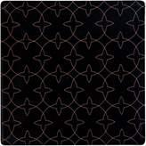 Maxwell & Williams Tessellate Ceramic Tile Coaster, Aviary, Black