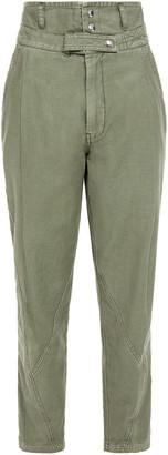 Frame Twisted Slub Cotton Tapered Pants