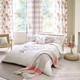 Sanderson Magnolia & Blossom Coral Duvet Cover - King
