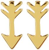 Gorjana 18K Gold Plated Arrow Stud Earrings