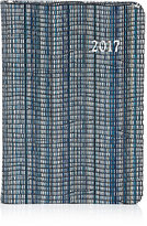 Barneys New York Striped Leather 2017 Daily Journal-BLUE