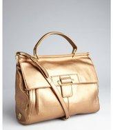 Kooba metallic bronze leather 'Aiden' convertible satchel