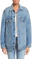 Alexander Wang T by 'Daze' Oversized Denim Jacket