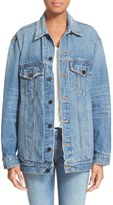 Alexander Wang Women's Daze Oversized Denim Jacket