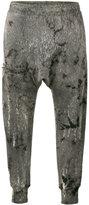 Drifter Ferrum cropped track pants - women - Cotton - S
