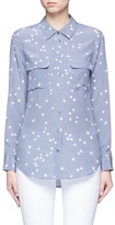 Equipment 'Slim Signature' star print silk shirt