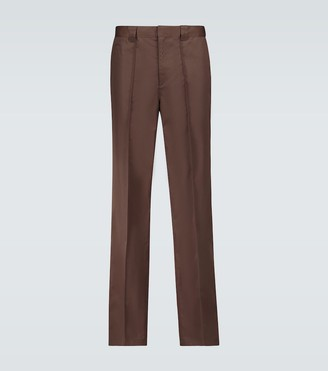 Undercover Nylon straight-fit pants