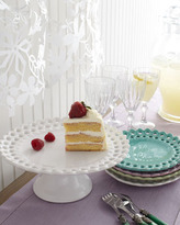 NM Exclusive Pierced Dessert Plates & Footed Cake Stand
