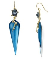 Alexis Bittar Satellite Crystal Spike Drop Earrings