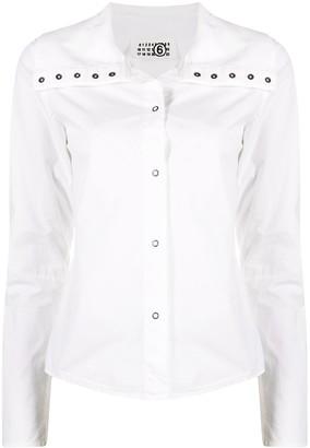 Maison Martin Margiela Pre-Owned 2000s Press-Stud Shirt