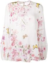 Giambattista Valli floral print blouse - women - Silk - 44