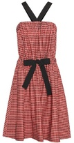 Vanessa Bruno Cotton Gingham Dress