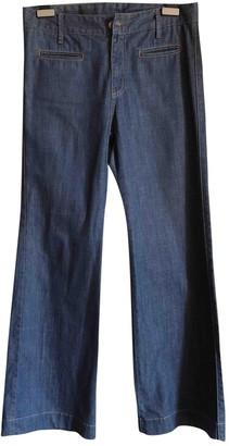 IRO Blue Cotton Jeans