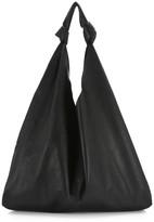The Row Bindle Two Leather Hobo Bag