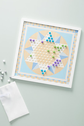 Melissa & Doug Solitaire & Chinese Checkers Game Board By in Assorted
