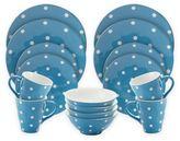 Maxwell & Williams Maxwell & WilliamsTM Sprinkle 16-Piece Dinnerware Set in Sky