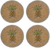 Joanna Buchanan Set of 4 Coasters - Pineapple