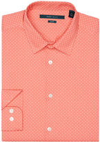 Perry Ellis Slim Fit Polka Dot Shirt