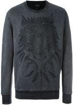 Diesel bear print sweatshirt
