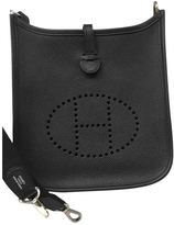 Hermes Evelyne leather shoulder bag.\n