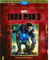 Iron man 3 3d (Blu-ray)