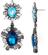 Aqua Hermione Drop Earrings