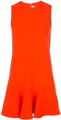 Victoria Victoria Beckham Flared Mini Dress