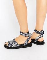 Asos FREETOWN Chunky Flatform Sandals
