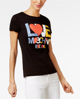 Love Moschino Cotton Logo Graphic T-Shirt