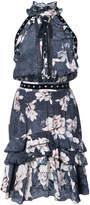 Just Cavalli printed halterneck dress
