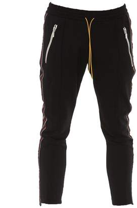 Rhude Stripped Trim Slim Fit Track Trousers
