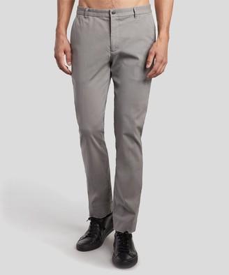 Atm Stretch Cotton Garment Wash Slim Pants - Grey