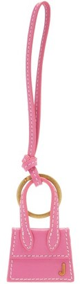 Jacquemus The Chiquito Leather Key Ring - Pink