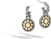 John Hardy Women's Dot Drop Earring in Sterling Silver and 18K Gold