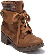 Rock & Candy Sonni Plaid Double Cuff Boot