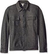 Calvin Klein Jeans Men's Bonded Knit Trucker Sweater