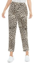 Vince Camuto Women's Leopard Song Pull-On Slim Leg Pants