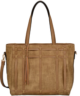 Mellow World Camel Shirley Tote