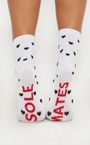 Buffalo David Bitton White Sole Mate Socks