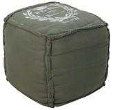 "Surya Forest Mimas French Cube Pouf (18""X18""X18"")"
