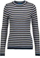 MiH Jeans Moonstone Striped Merino Wool Sweater