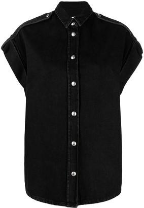 IRO Cap-Sleeve Cotton Shirt
