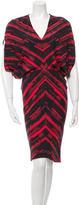 Zero Maria Cornejo Silk Printed Dress w/ Tags