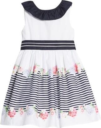 Little Angels Sleeveless Print Dress