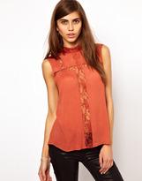 Vero Moda Very By Lace Insert Top