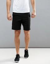 New Look Sport Jersey Shorts In Black