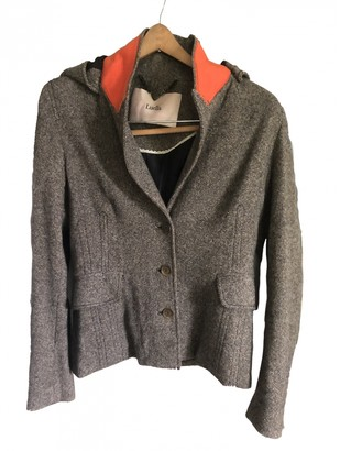 Luella Brown Wool Jacket for Women Vintage