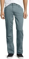 Joe's Jeans Brixton Sage Resin Denim Jeans, Light Green