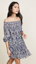 Cupcakes And Cashmere Elroy Paisley Off Shoulder Dress